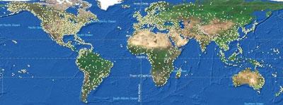 Jet Charter Locations Worldwide
